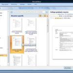 Microsoft Office 2010 Resume Templates