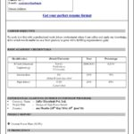 Microsoft Office 2010 Resume Templates Download