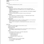 Microsoft Office Templates For Resumes