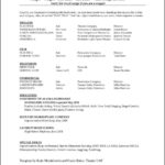 Microsoft Word 2010 Resume Template