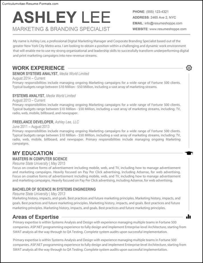 Is there a resume template in microsoft word for mac word
