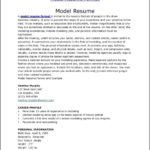 simple bpo call centre resume template model resume templates