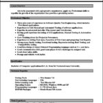 Office 2007 Resume Template