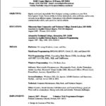 Open Office Resume Template Download