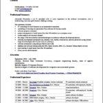 Open Office Resume Templates