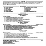 Personal Assistant Resume Templates