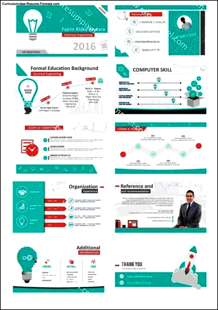 Powerpoint Resume Template