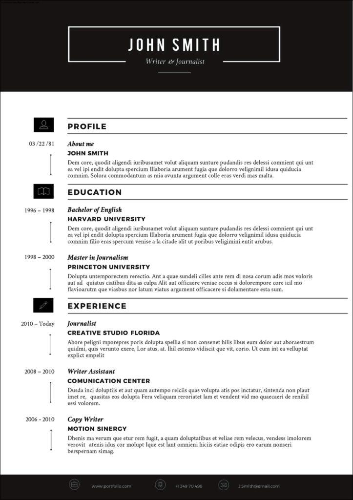 premade resume