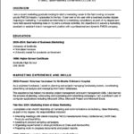 Promotional Model Resume Template