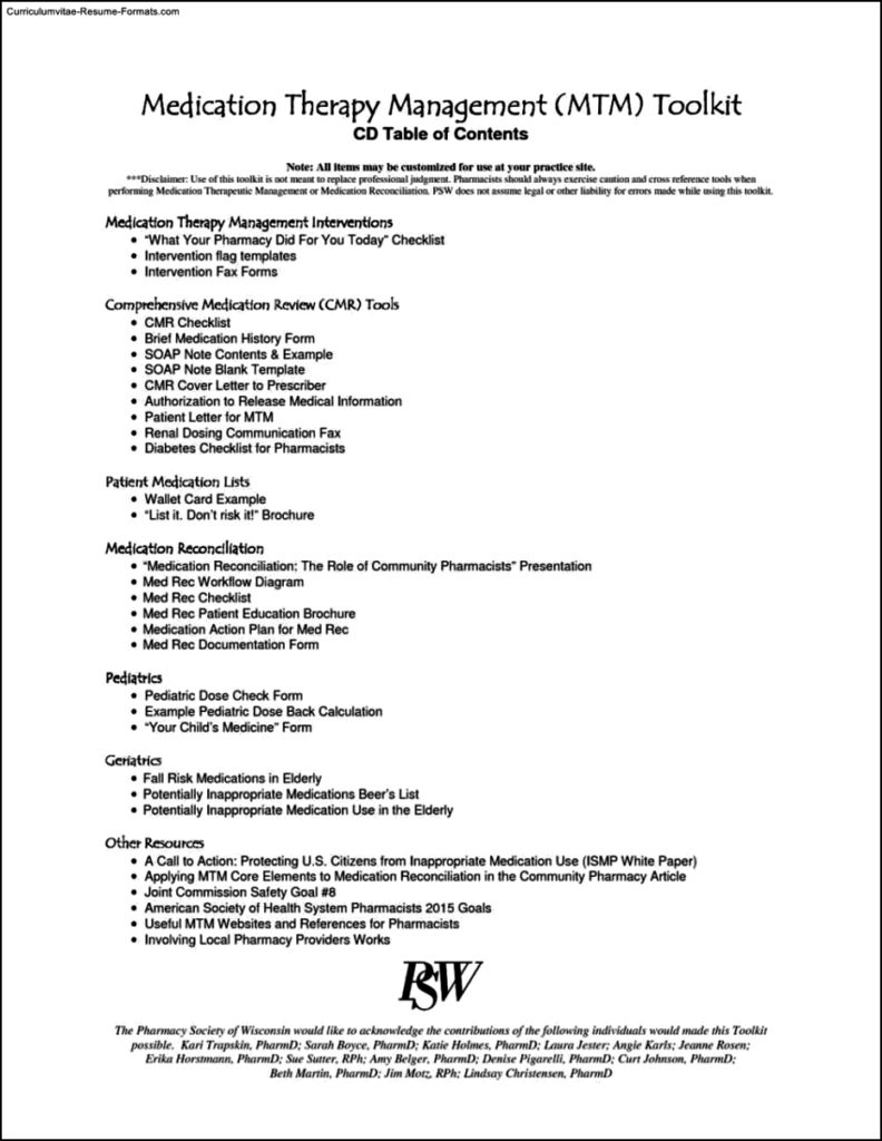 Psw Resume Template Free Samples Examples Amp Format