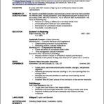 Quick Resume Templates