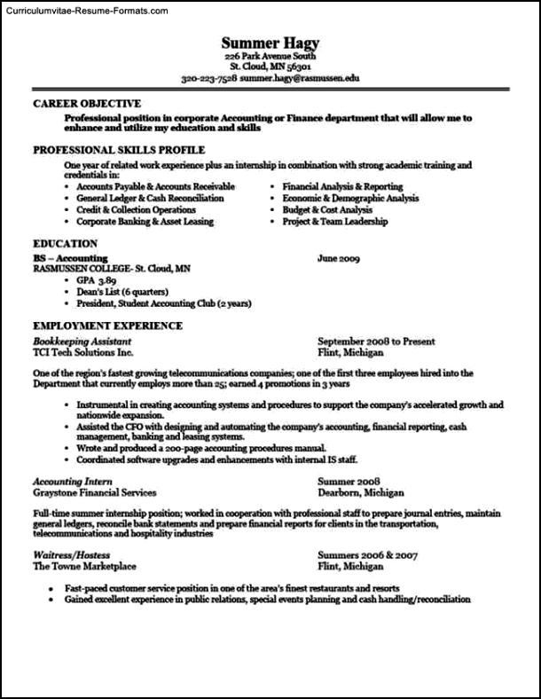 really good resume templates