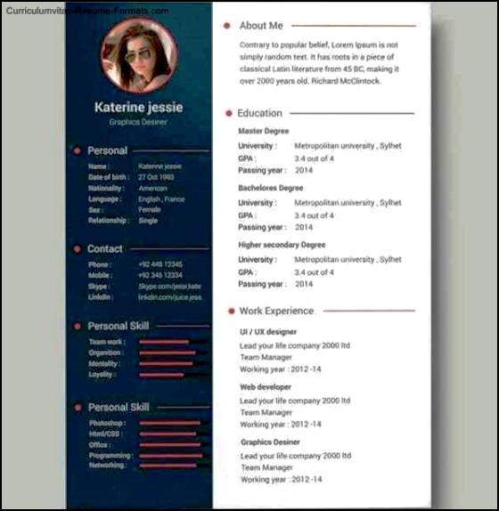 resume cv templates free