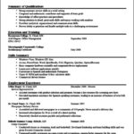 Resume Objective Templates