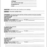 Resume Outline Templates