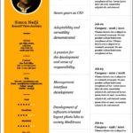 Resume Pages Template