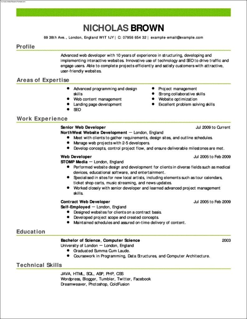 Resume Resume Template