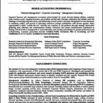 Resume Template Accountant