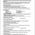 Resume Template Canada