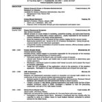 Resume Template For High School Graduate
