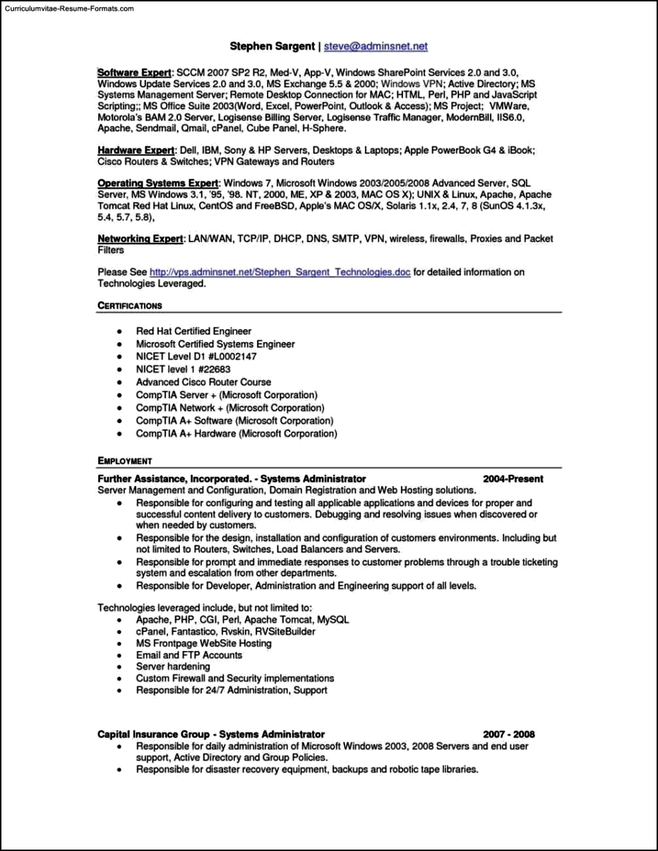 Pages Resume Templates For Mac