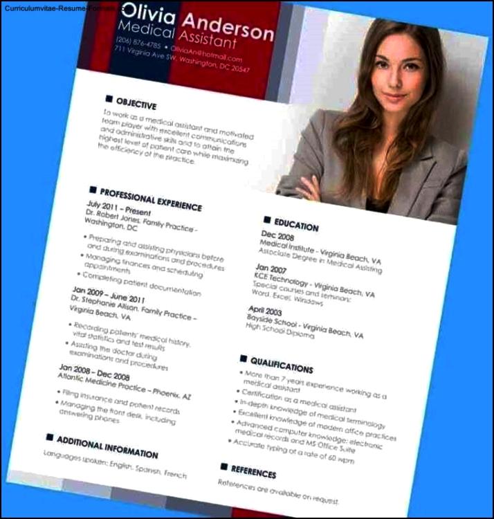 Resume Template In Word 2007