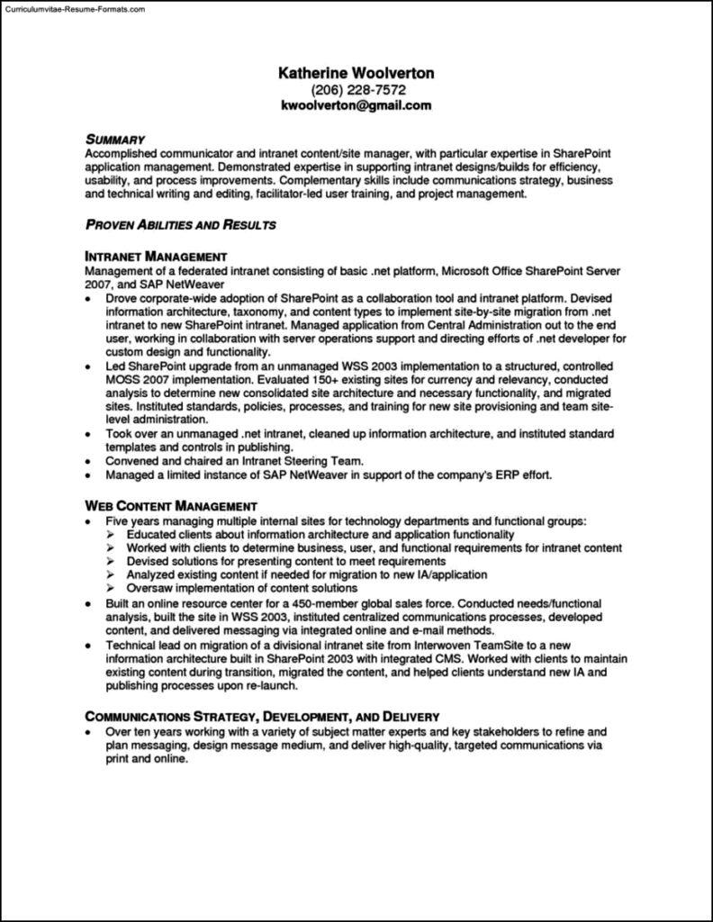 resume template microsoft office