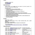 Resume Template Office 2010
