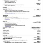 Resume Template On Word 2010