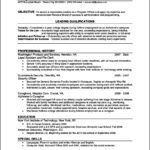 Resume Template Online Free