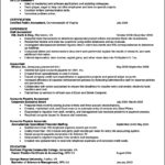 Resume Template Open Office Free