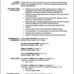 Resume Template Rn