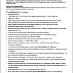 Resume Template Standard