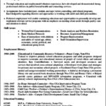 Resume Template With Volunteer Experience