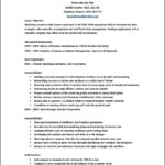 Resume Template Word Document