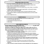 Resume Templates Administrative Assistant