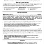 Resume Templates For Chefs
