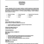 Resume Templates For College Students For Internships