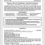 Resume Templates For Executives