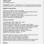 Resume Templates For Free Online
