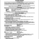 Resume Templates For Software Engineer