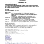 Resume Templates For Teenagers