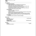 Resume Templates High School Graduate