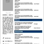Resume Templates In Word 2010