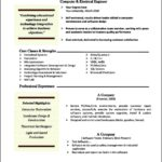 Resume Templates Mac Word