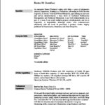Resume Templates On Mac