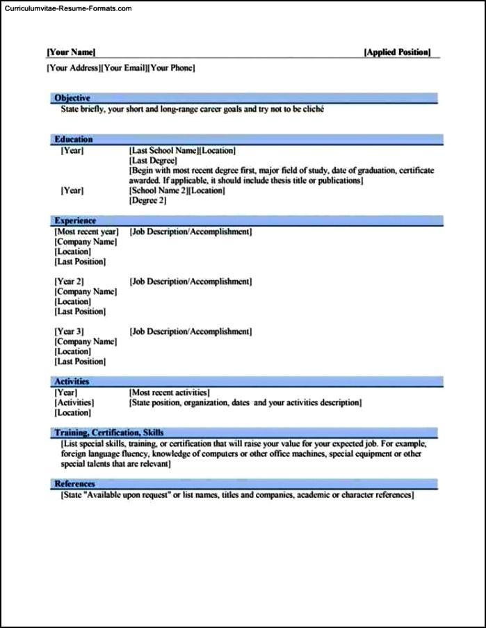 Microsoft word 2010 resume help
