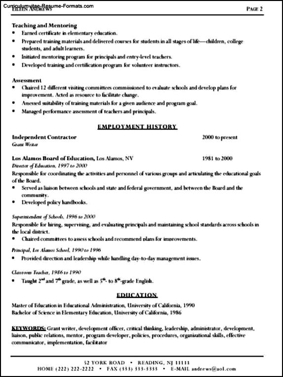 Resume Writing Templates