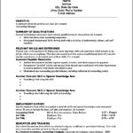 Sample Functional Resume Template