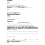 Standard Resume Templates